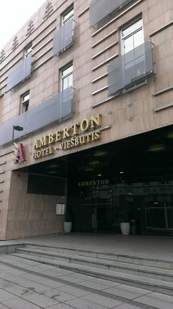 Amberton Hotel: вход