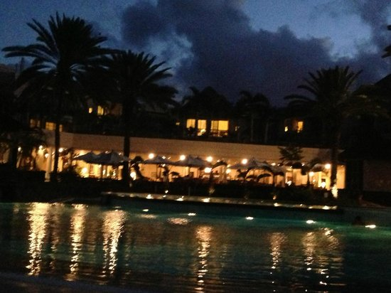 The Residence Mauritius : Resort View from Swimming pool Area