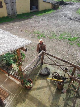 Toscana Ranch: e dalla nostra camera appare il cowboy