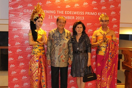 The Edelweiss Boutique Hotel Kuta : Opening The Edelweiss Primo Kuta