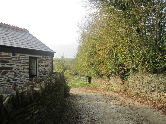 Old Lanwarnick: Spice Barn