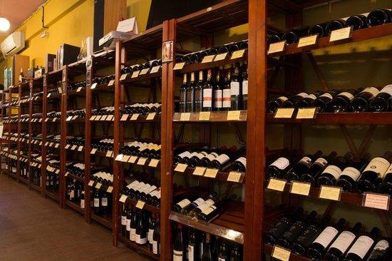 酒瓶子葡萄酒专卖店