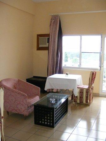 Hotel Beausejour Mirabel : Mini Salon & Suite
