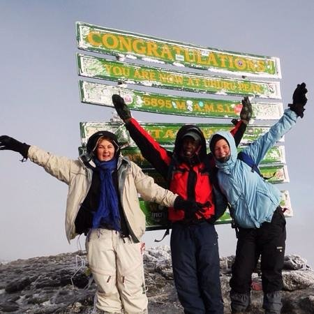 Tembotamu B&B: summit!