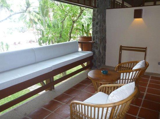 El Nido Resorts Lagen Island : Forest Room - veranda