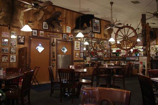 The Oyster House Restaurant: Originalita' dell'interno