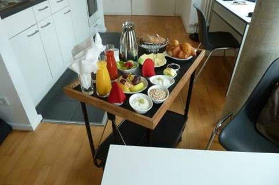 Karlito Apartmenthaus : Frühstück im Karlito