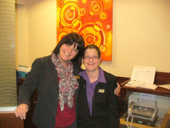 Best Western Hotel Royale: Some of friendly staff