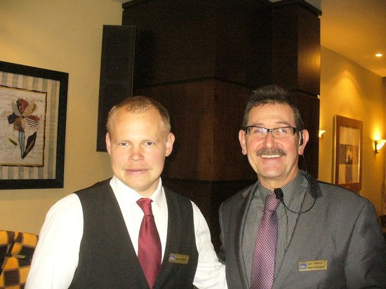 Best Western Hotel Royale: Some of the friendly staff