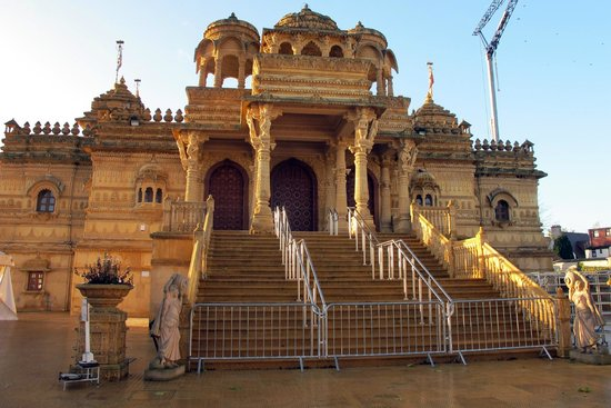 Sanatan Temple: Shame the barriers are there