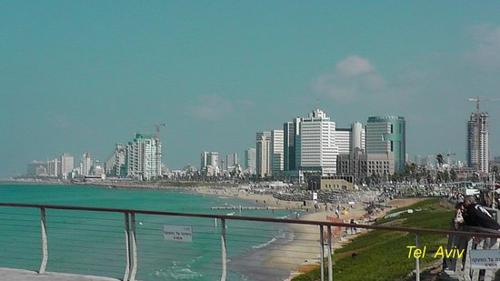 Crowne Plaza Tel Aviv City Center: Tel Aviv beach