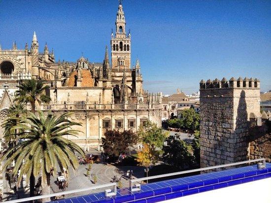 Casa Romana Hotel Boutique: Buongiorno Siviglia!! Che risveglio dalla SUITE ALCAZAR