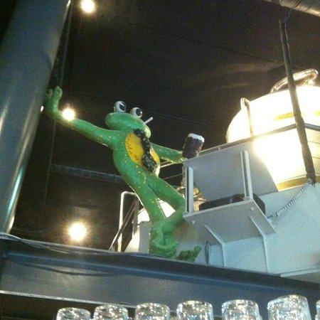 The Frog at Bercy Village : encore mister frog