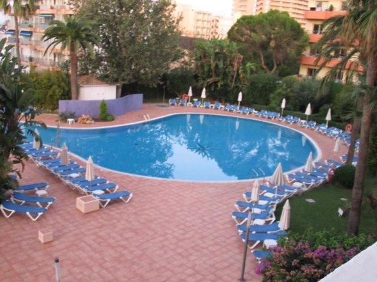 Hotel Oleander: Vue du balcon de la chambre