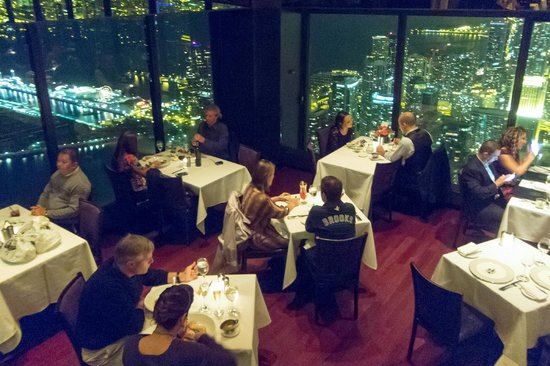 Exceptional The Signature Room At The 95th: Restaurant From Bar On 96th Floor