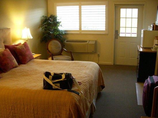 Geyserville Inn: Quarto. Foto de 2011.