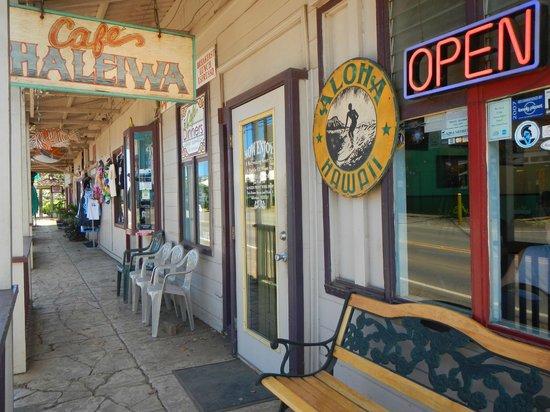 Cafe Haleiwa : Entrance