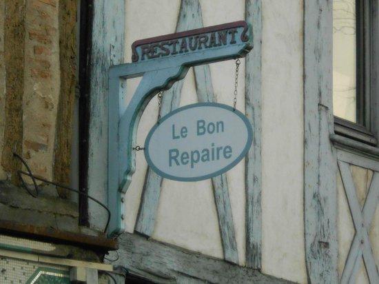 Enseigne du restaurant Le Bonrepaire