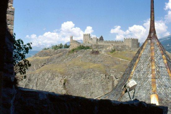 Chateau de Tourbillon: dalla valere