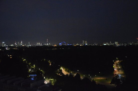 Lancaster London: The view at night