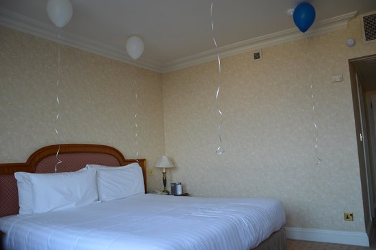 Lancaster London: The room