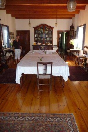 Lekkerwijn: Das Esszimmer Im Haupthaus, Wo Das Frühstück Serviert Wird