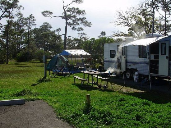 Fort Pickens Campground: the