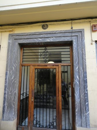 Valencia Arthouse : L'ingresso del B&B