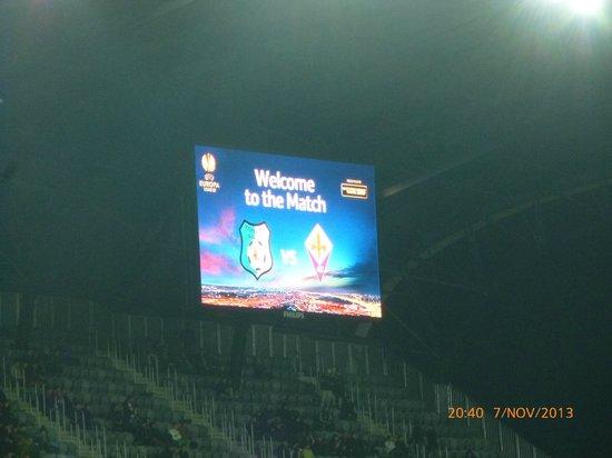 Cluj Arena: tabellone