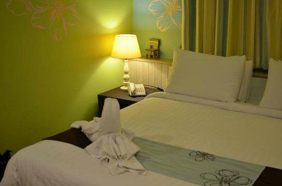 Bussaba Bangkok: Confortable bed