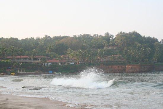 Vivanta by Taj - Fort Aguada, Goa : fab location of the hotel complex
