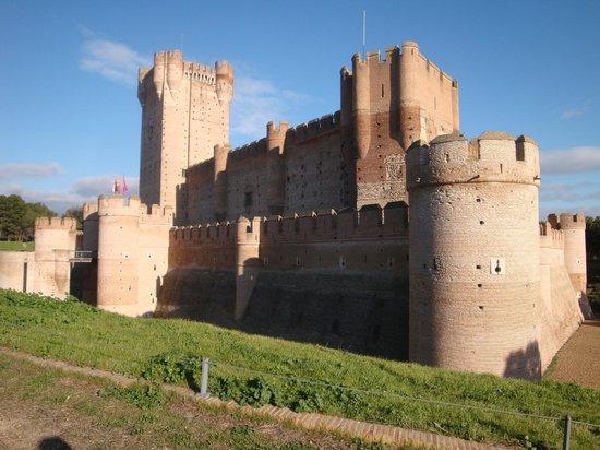 Castillo de la Mota: El castillo