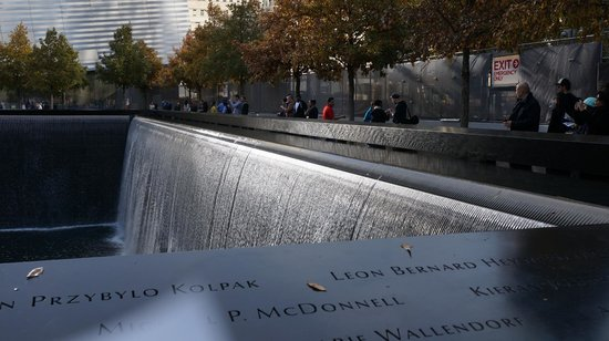 National September 11 Memorial und Museum: Memorial