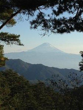 Shosen Gorge Ropeway : 山頂からの富士山