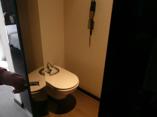 Eurostars Palace: zona de bidet y wc