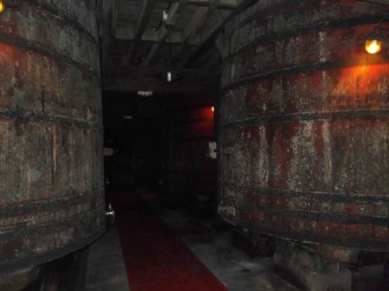 Bodegas Bilbaínas: Bodega antigua
