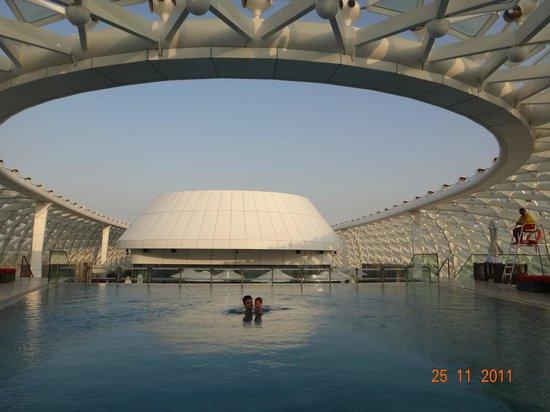 Yas Viceroy Abu Dhabi: Olha Isso!!!