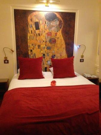 Timhotel Tour Montparnasse: vue de la chambre