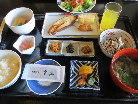 Unkai: 朝食