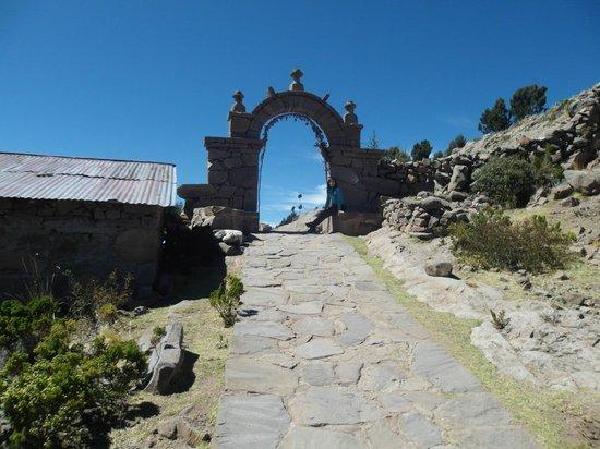Taquile Island : I panoramo