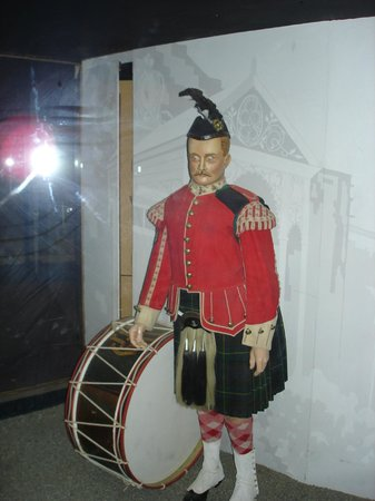 McGregor Museum: Visual display of Scottish soldier