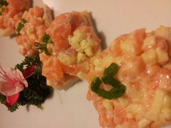 Magokoro : canape saumon