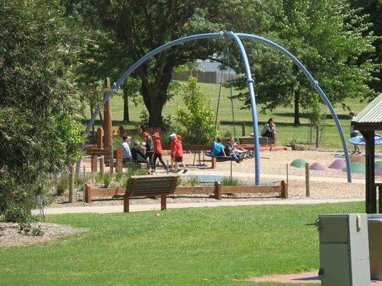 Yarra Glen Adventure Playground, McKenzie Reserve: McKenzie Reserve gardens