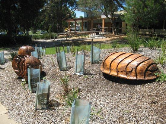 Yarra Glen Adventure Playground, McKenzie Reserve: Gardens in McKenzie Reserve