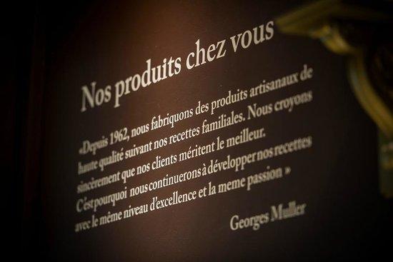 Muller's Factory: Philosophie