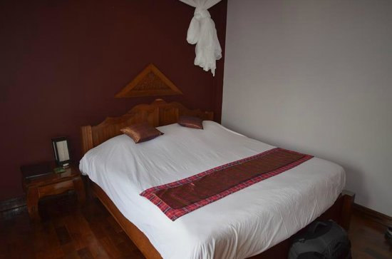 Inthira Vang Vieng : Comfortable bed with good linens