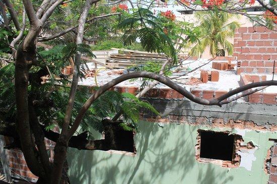 Pousada Joao Sol: Obras na pousada