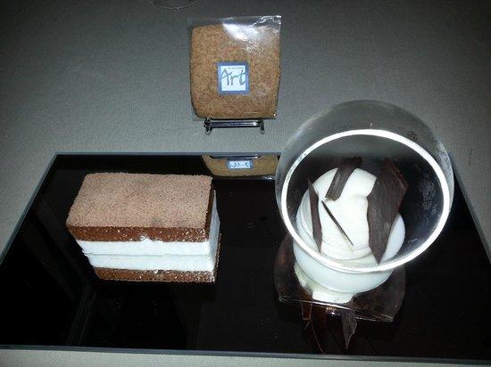 Le Neuvieme Art: gateau poire-chocolat