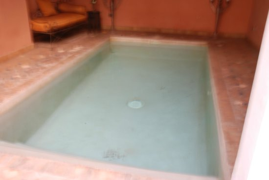 Riad Alwane: piscine