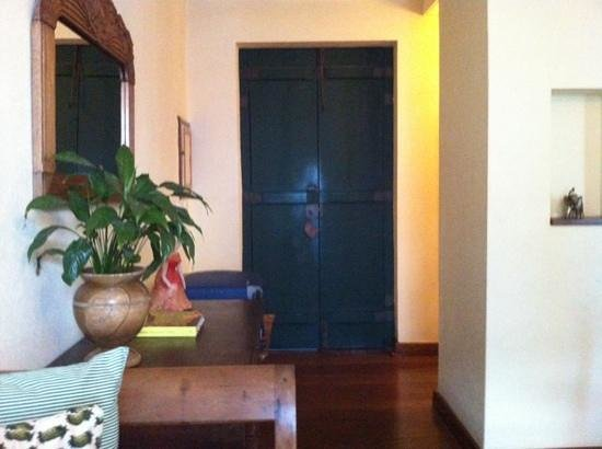Villa Bahia : the bedroom door - from inside